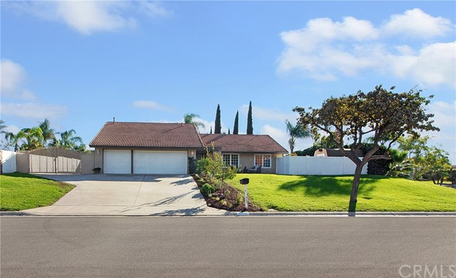 One of Single Story Yorba Linda Homes for Sale at 17942  Sun Knoll Drive
