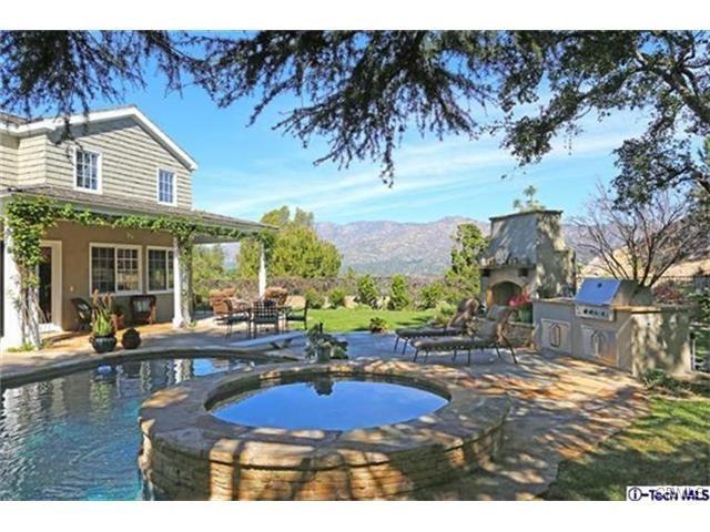 Single Family Home for Rent at 3928 Starland Drive La Canada Flintridge, California 91011 United States