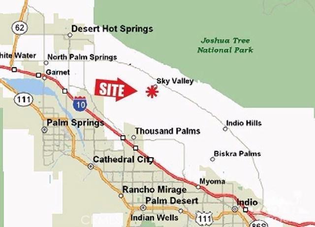 60 Bennett Rd Sky Valley, CA 92241 - MLS #: 217020798DA