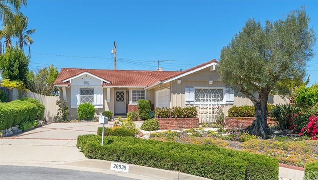 26839 Hyte Road Rancho Palos Verdes, CA 90275 is listed for sale as MLS Listing SB18091445
