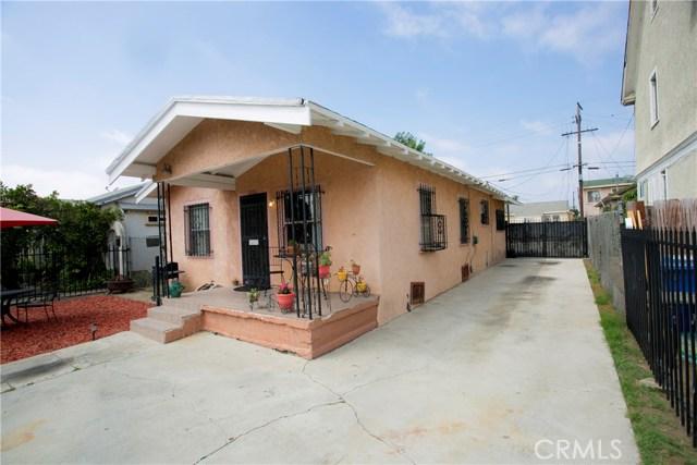 1021 W 62nd Street Los Angeles, CA 90044 - MLS #: RS18217093