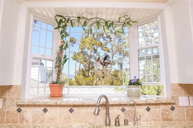 Bay window with granite shelf