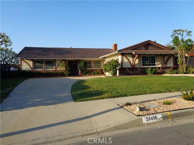 20416 Seton Hill Drive, Walnut, CA, 91789