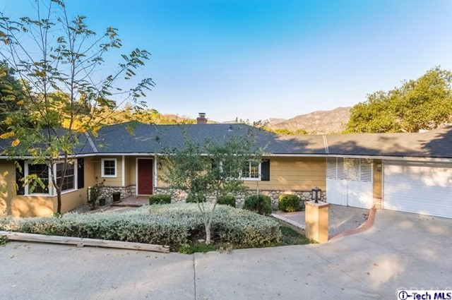 563 Highland Drive La Canada Flintridge, CA 91011 is listed for sale as MLS Listing 316005408