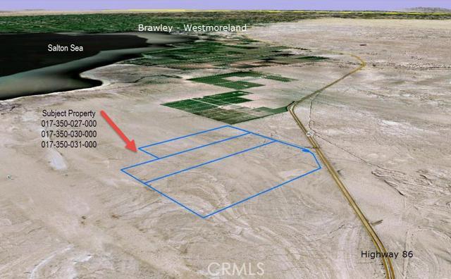 Terreno por un Venta en Salton Sea Road Brawley, California 92227 Estados Unidos