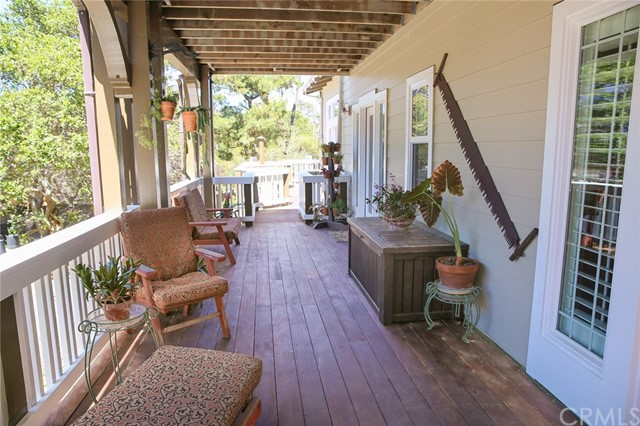 7 x 18 front porch with Ipe hardwood decking
