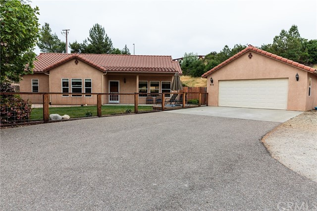 870 N N Ferrocarril Road, Atascadero in San Luis Obispo County, CA 93422 Home for Sale