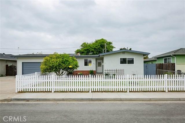 840  Turquoise Drive, Arroyo Grande in San Luis Obispo County, CA 93420 Home for Sale