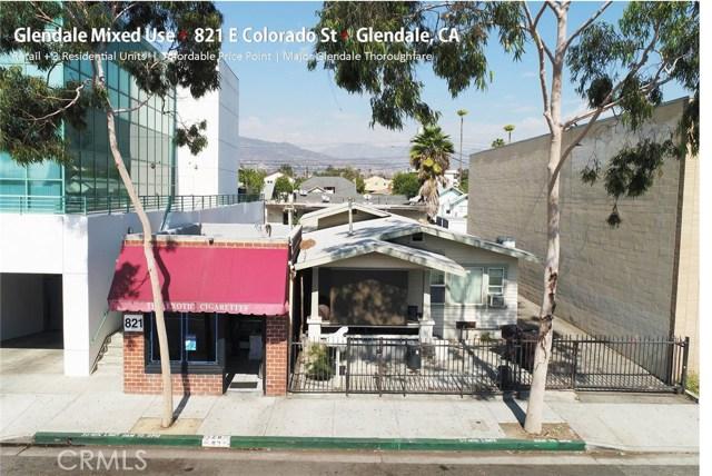 Residential Income for Sale at 821 E Colorado Street 821 E Colorado Street Glendale, California 91205 United States