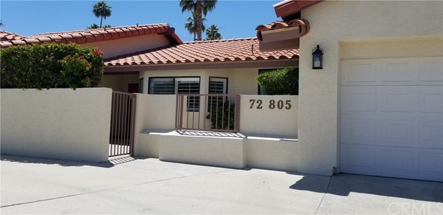 Detail Gallery Image 1 of 1 For 72805 Willow St, Palm Desert,  CA 92260 - 3 Beds | 2/1 Baths