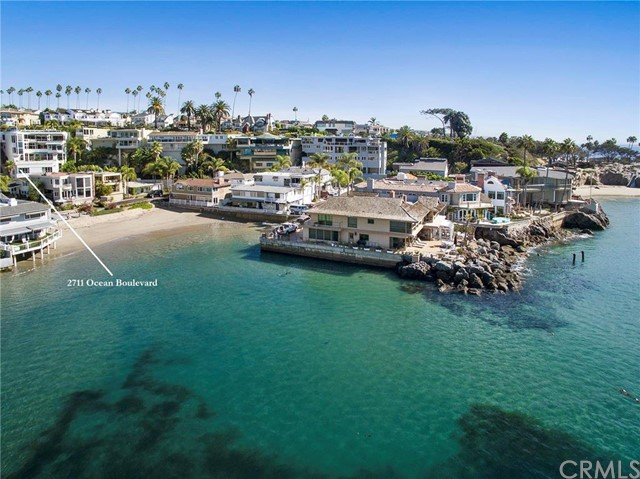 Single Family Home for Sale at 2711 Ocean St Corona Del Mar, California 92625 United States