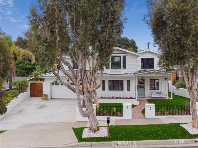 2310 Fairhill Drive Newport Beach, CA 92660