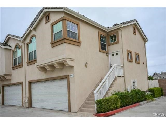 Townhouse for Rent at 4932 Bishop Street Cypress, California 90630 United States