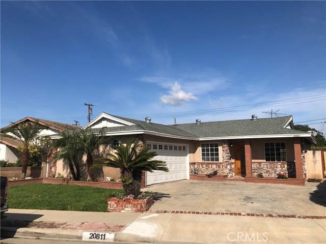 20811 Doble Avenue, Torrance, California 90502, 3 Bedrooms Bedrooms, ,2 BathroomsBathrooms,Single family residence,For Sale,Doble,SB20050583