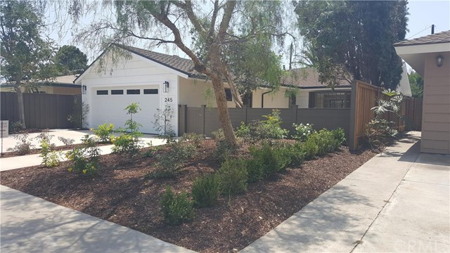 Single Family Home for Sale at 245 Virginia Place Costa Mesa, California 92627 United States