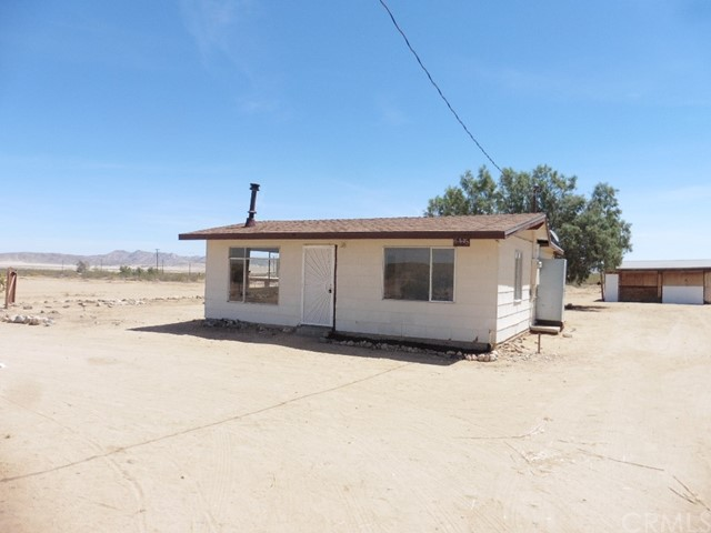 Single Family Home for Sale at 6445 Pony Road Johnson Valley, California 92285 United States