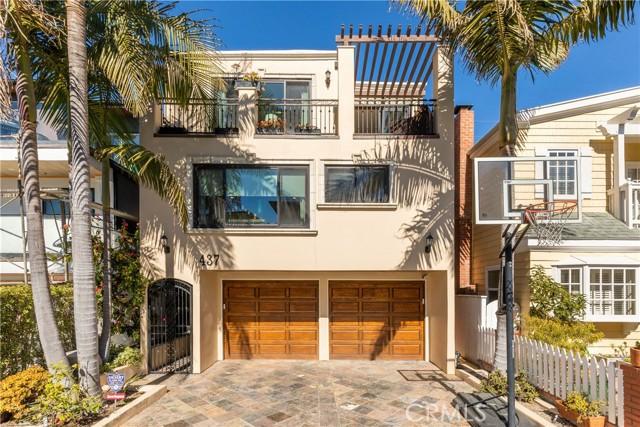 437 27th Street, Manhattan Beach, California 90266, 4 Bedrooms Bedrooms, ,3 BathroomsBathrooms,Single family residence,For Sale,27th,SB21036239