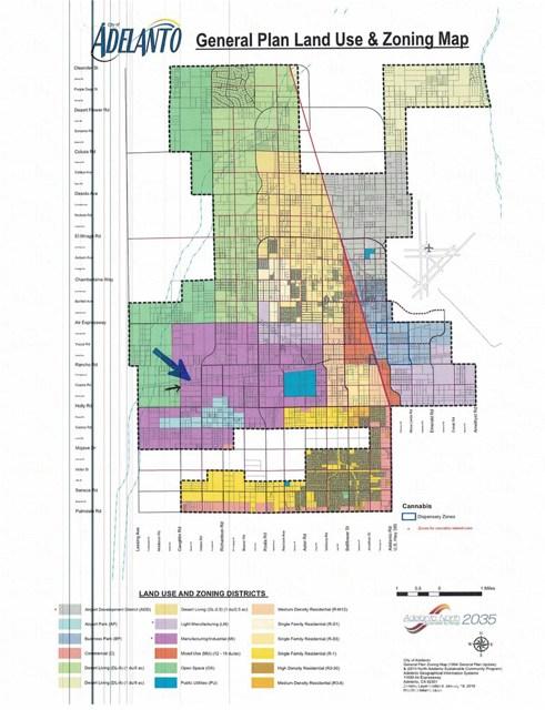土地,用地 为 销售 在 N/A Adelanto, 加利福尼亚州 美国