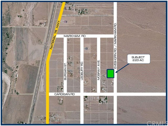 Single Family for Sale at 0 Eveshorn Road Oro Grande, California 92368 United States