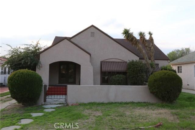 Single Family Home for Sale at 2818 Arrowhead Avenue N San Bernardino, California 92405 United States
