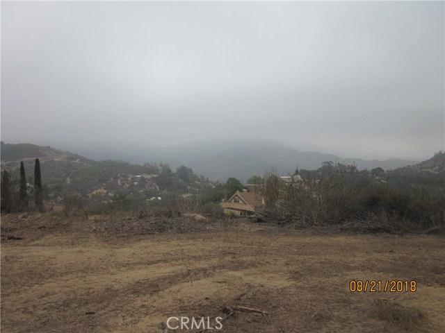 0 Rainbow Crest Road Fallbrook, CA 92028 - MLS #: SW17125506