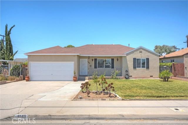 1143 N Citrus Avenue, Covina, CA 91722