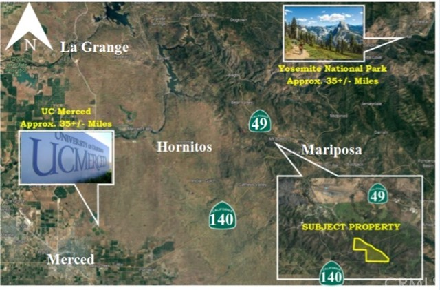 Land for Sale at Agua Fria Road Agua Fria Road Bear Valley, California 95338 United States
