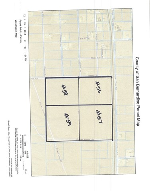 0 Bowen Ranch Road Apple Valley, CA 92308 - MLS #: EV18131026