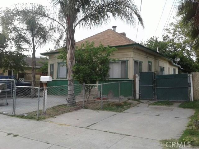 Single Family Home for Sale at 1144 Spruce Street San Bernardino, California 92411 United States
