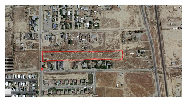 Land for Sale at 0 No Street Name Rosamond, California United States