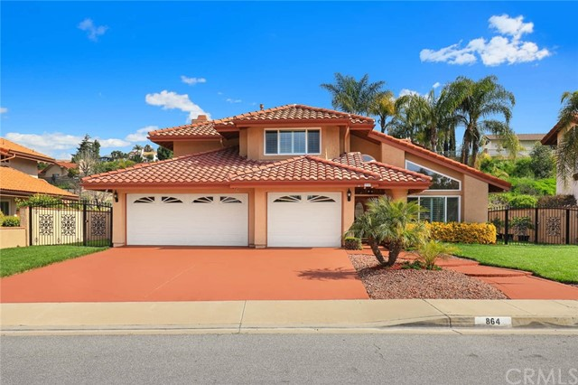 864  Bridgewater Lane, Walnut in Los Angeles County, CA 91789 Home for Sale