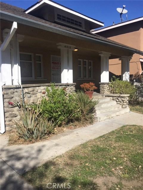 4315 Homer Street Los Angeles, CA 90031 - MLS #: CV18035519