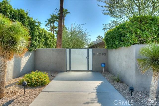 1010 Via Altamira Palm Springs, CA 92262 - MLS #: 217024034DA