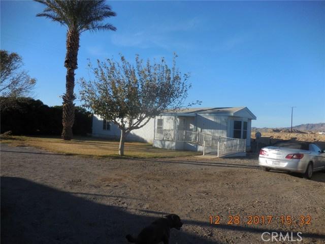 Casa Unifamiliar por un Venta en 3540 N Lovekin Boulevard Blythe, California 92225 Estados Unidos