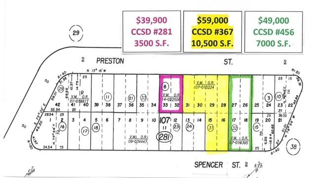 0  Preston Street, Cambria in San Luis Obispo County, CA 93428 Home for Sale