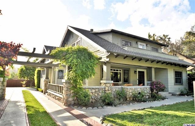 Single Family Home for Sale at 133 Orange Grove Boulevard N Pasadena, California 91103 United States