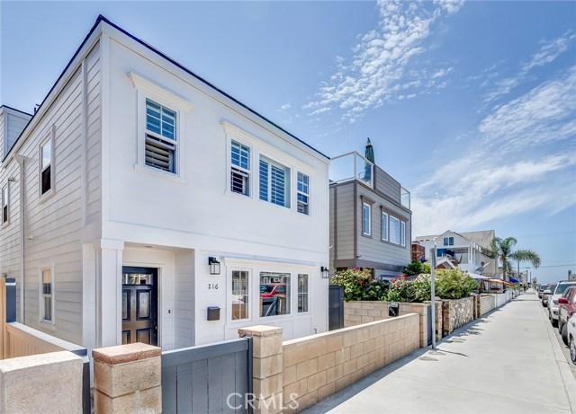 216 30TH Street Newport Beach, CA 92663 - MLS #: OC17112303
