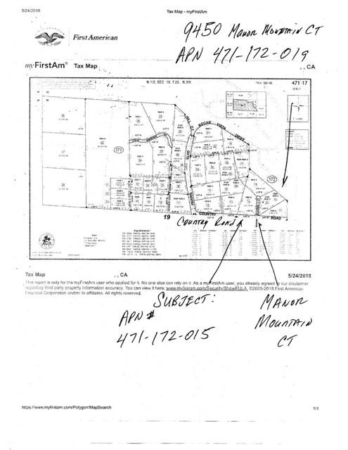 0 Manor Mountain Court, Moreno Valley, CA, 92557