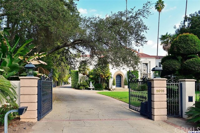 Single Family Home for Sale at 2075 Lombardy Road San Marino, California 91108 United States