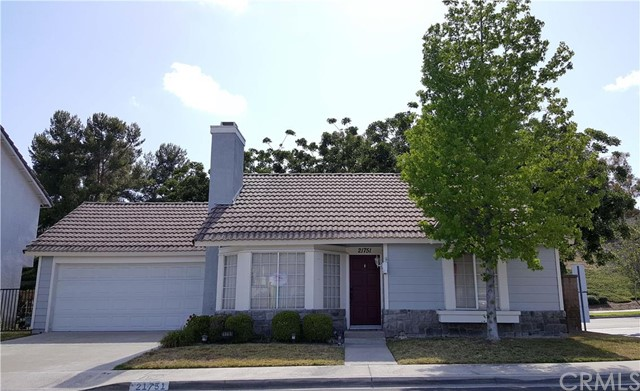 21751 Tegley , CA 92692 is listed for sale as MLS Listing OC16104076