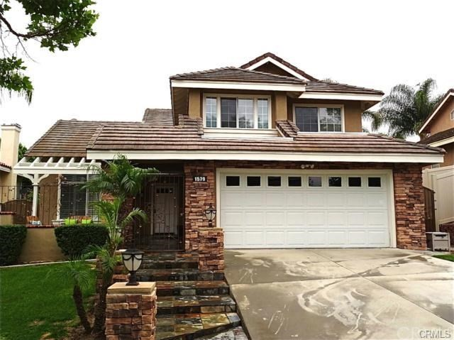One of Custom Built Corona Homes for Sale at 1579  Tanglewood Drive