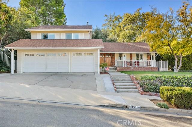 1541 Coachwood Street La Habra, CA 90631 - MLS #: PW18054561