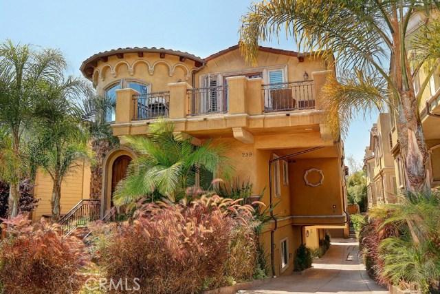 Townhouse for Rent at 239 Irena Avenue Unit B 239 S Irena Avenue Redondo Beach, California 90277 United States