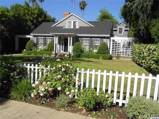 Single Family Home for Rent at 695 Hudson Avenue S Pasadena, California 91106 United States