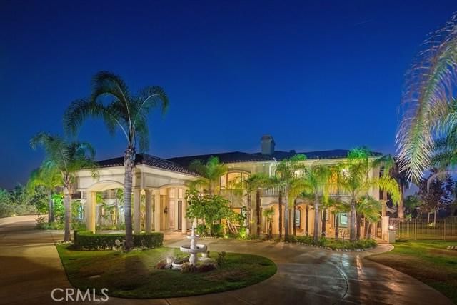 Single Family Home for Sale at 100 Oak Knoll Drive Bradbury, California 91008 United States