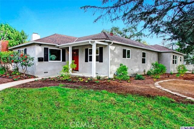 Single Family Home for Sale at 2610 Las Lunas Street Pasadena, California 91107 United States