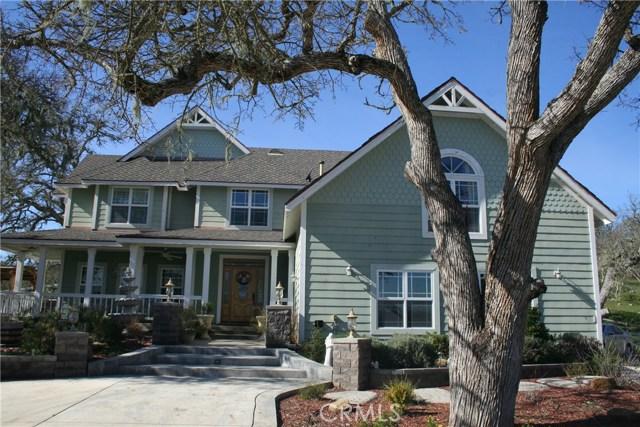 Single Family Home for Sale at 6480 Alta Pradera Lane Atascadero, California 93422 United States