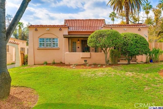 Single Family Home for Rent at 1731 Lake Avenue N Pasadena, California 91104 United States