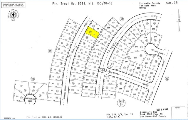 0 Bermuda Dunes Road Victorville, CA 92395 - MLS #: EV17102392