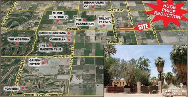 Single Family Home for Sale at 83220 Avenue 52 (27.31 ac) Coachella, California 92236 United States